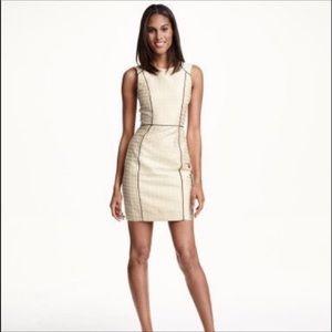 NWT H & M Cream Smart Pencil Dress
